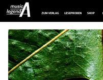 Webdesign Hörbuchverlag