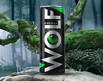 Energy drink, packaging/label design