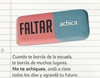 2012 - Faltar achica
