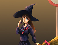 High School Witch
