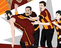 Eurocup Final Koreografi – Galatasaray v Strasbourg