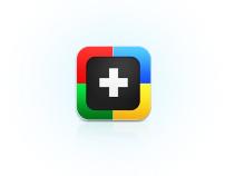 Google + icon app