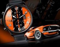 Digital Painting for QuartoDiMiglio Sport Watches