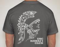 2011 USC Hawaii Club shirt and tank