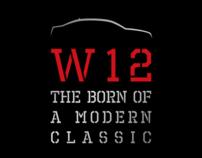 Audi A8L W12 press ad.