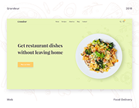 Grandeur — food delivery service | SPLIT Development