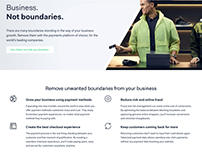 Adyen | Brand campaign landing pages