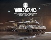 Czechoslovakian Heavy Tanks Product Visualization
