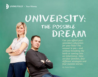 Homemakers Magazine - University The Possible Dream