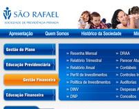 Proposta de site para a São Rafael Previdência