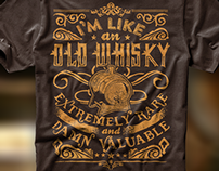 Like an old whisky...