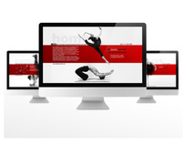 DK DANCE FACTORY Website Design