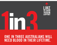 Blood Service - Facebook 1 in 3