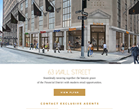 RKF Custom Marketing: 63 Wall Street
