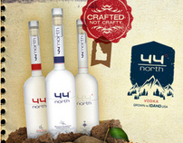 44 North Vodka Branding