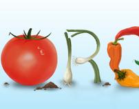 """Organic"" Experimental Type Piece"