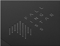 FALLING STARS security app - Logo Design