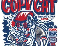 COPY CAT TEE