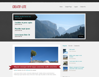 Creatif-Lite – Free WordPress Theme