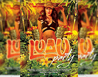 Luau Party - Premium A5 Flyer Template