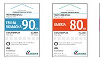 Redesign di biglietti regionali dei treni