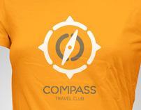 Compass Travel Club identity