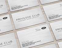Privilege Club :: Business Cards