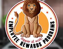 Employee Rewards Programs Mascot Logo