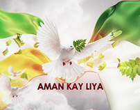 Aman Kay Liya (Peace Talk) | Title