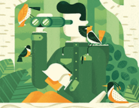 Birdwatching - Portfolio cover + Animation