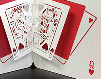 King & Queen of Hearts - Pop Up Card
