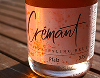 LABEL DESIGN: Crémant Rosé Label