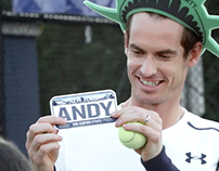 #Murrica: Andy Murray in New York