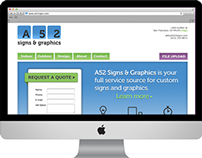 A52 Signs & Graphics website