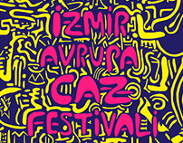 Posters for 25th İzmir European Jazz Festival