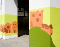 """Murales """"Le Contre"""""""