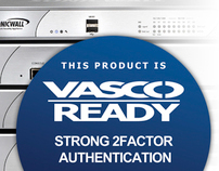 VASCO & SonicWALL 2Factor Authentication Campaign