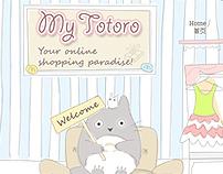 My Totoro - Custom Design Blogger Tempalte