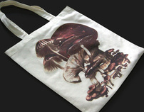 Mushrooms Tote