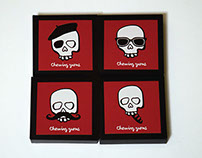 Chewing gums for Les Catacombes, Paris