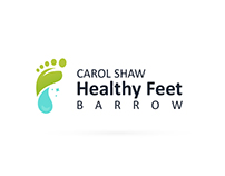 Healthy Feet Barrow Logo