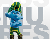 Kick Ass Smurfs
