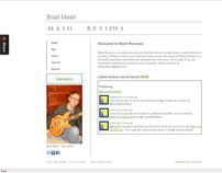 Personal Website - Mash Reviews