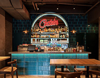 Cantina Agave [Shanghai] by hcreates