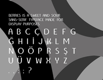 Berries: A Display Typeface