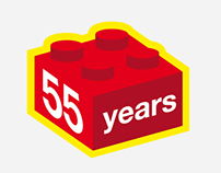 LEGO - 55 years of the brick