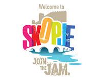 City of Skopje tourist logo