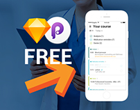 Free medical app concept