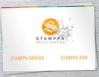 Site da Stamppa Gráfica