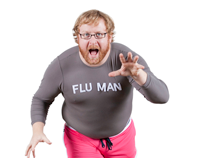Sanford Health Flu Man